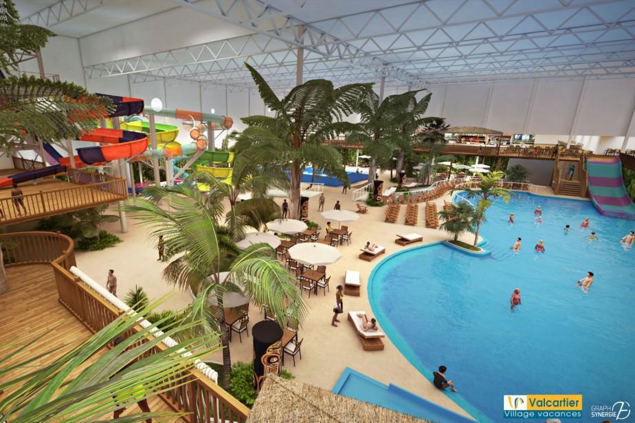 Une journ e inoubliable remporter au parc aquatique for Hotel parc aquatique interieur quebec