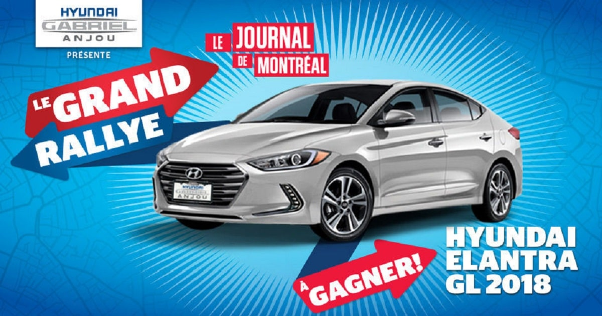 en jeu une voiture hyundai elantra gl 2018 bo te automatique gagner quebec rabais gratuits. Black Bedroom Furniture Sets. Home Design Ideas